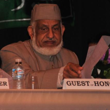 AMUAA Senior Zafar Sahab